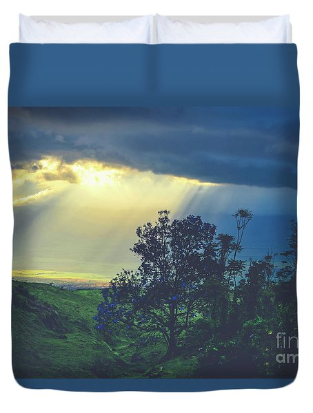 Dream Of Mortal Bliss Duvet Cover by Sharon Mau