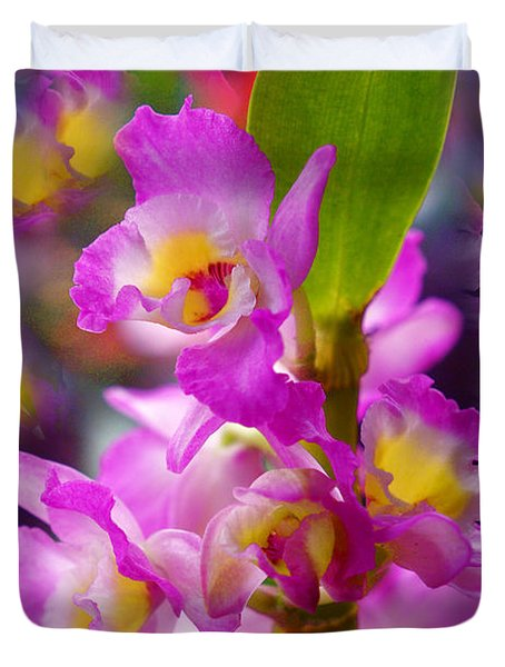 Duvet Cover featuring the photograph Dream Of Spring by Byron Varvarigos