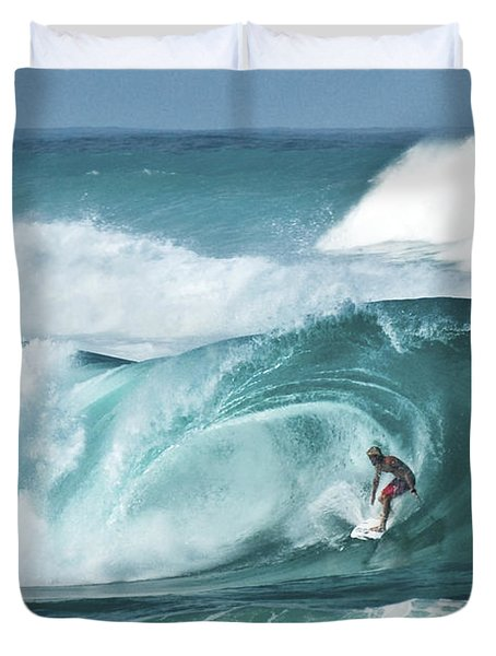 Dream Surf Duvet Cover by Steven Sparks