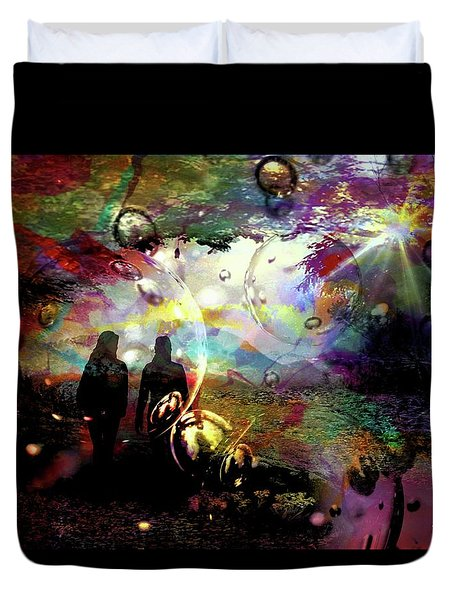 Dream Walking Duvet Cover