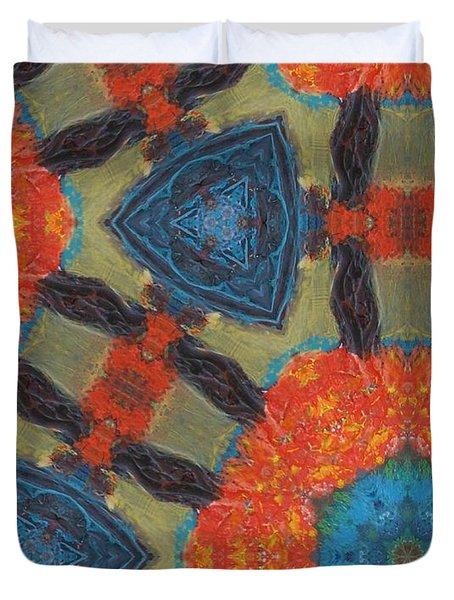 Dreamcatcher II Duvet Cover by Maria Watt