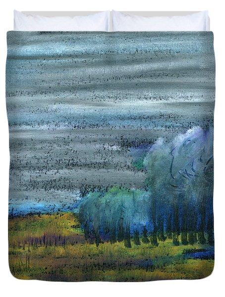 Dreamed Among All Duvet Cover by R Kyllo