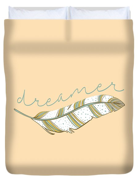 Duvet Cover featuring the digital art Dreamer by Heather Applegate