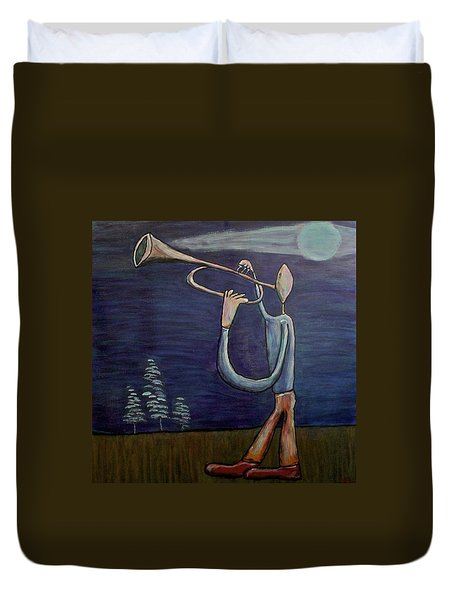 Dreamers 13-002 Duvet Cover by Mario Perron