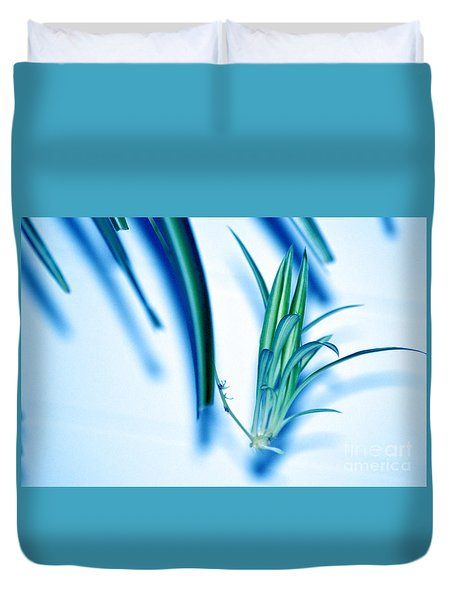 Duvet Cover featuring the photograph Dreaming Abstract Today by Susanne Van Hulst