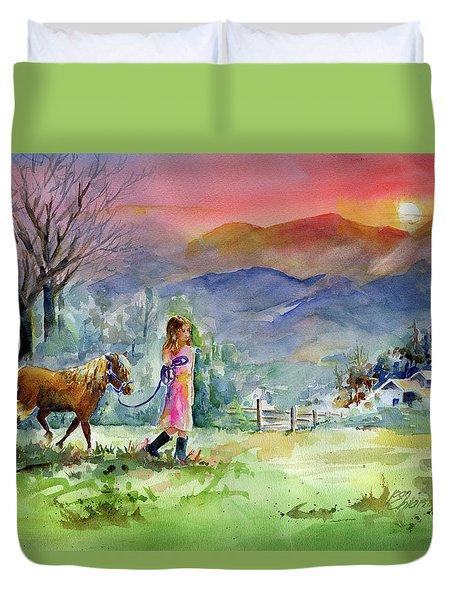 Dreaming Big Duvet Cover