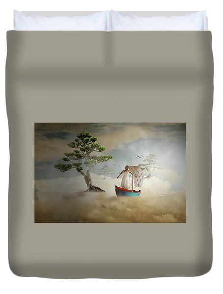 Dreaming High Duvet Cover by Nathan Wright