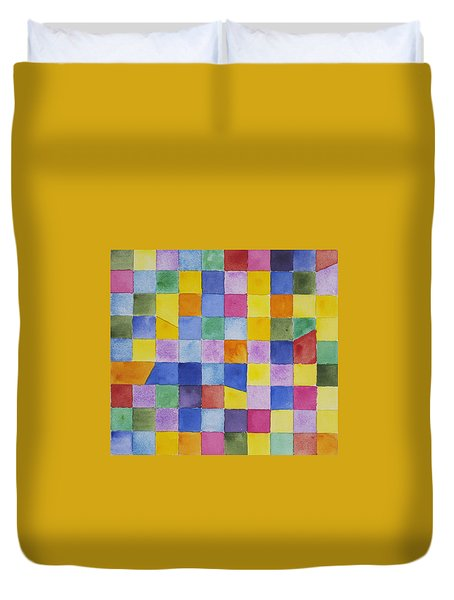 Dreaming In Encinitas Duvet Cover
