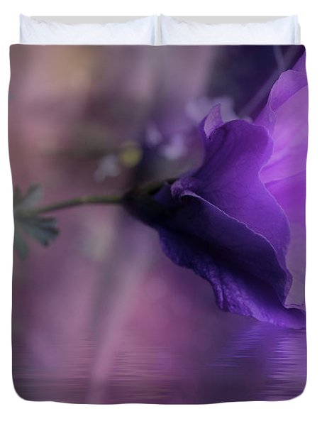 Dreaming In Purple Duvet Cover