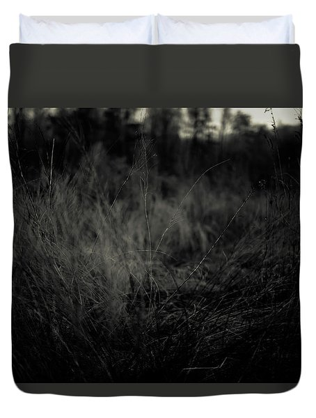 Duvet Cover featuring the photograph Dreaming In by Shane Holsclaw
