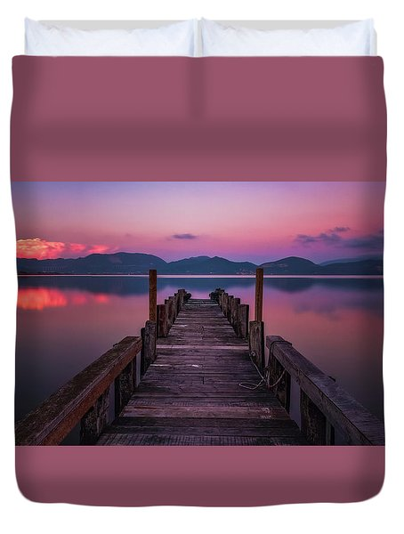 Dreaming Duvet Cover