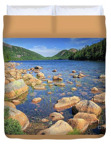 Dreaming Of Acadia Duvet Cover