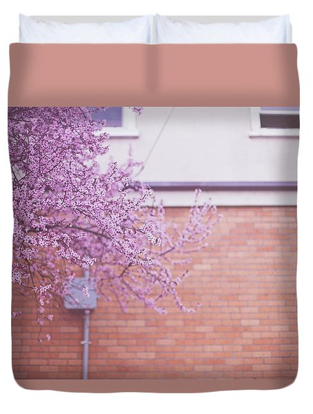 Dreaming Of Blossoming Duvet Cover