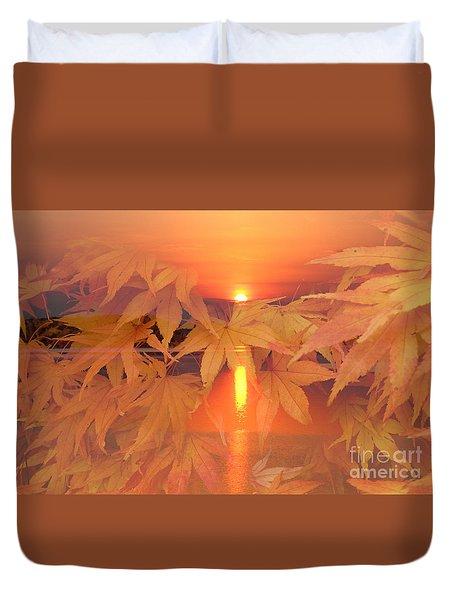 Dreaming Of Fall Duvet Cover
