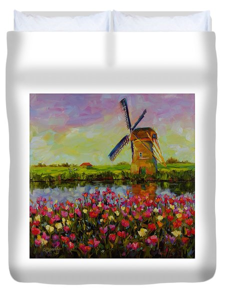 Dreaming Of Holland Duvet Cover by Chris Brandley