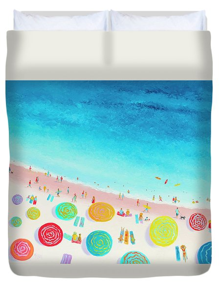Dreaming Of Sun, Sand And Sea Duvet Cover