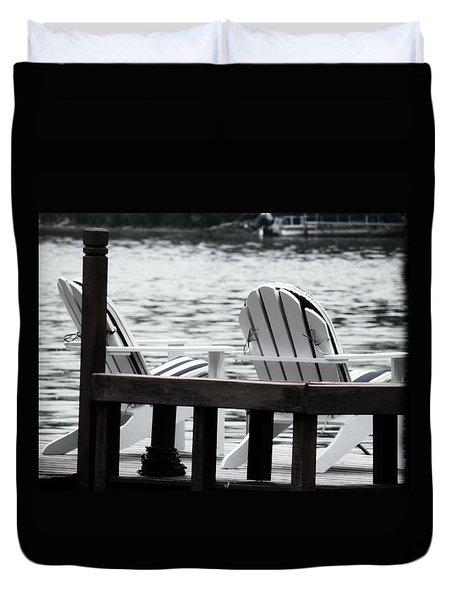 Dreaming Of The Beach Duvet Cover