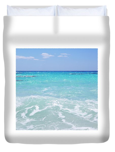 Dreaming Of The Beach Duvet Cover