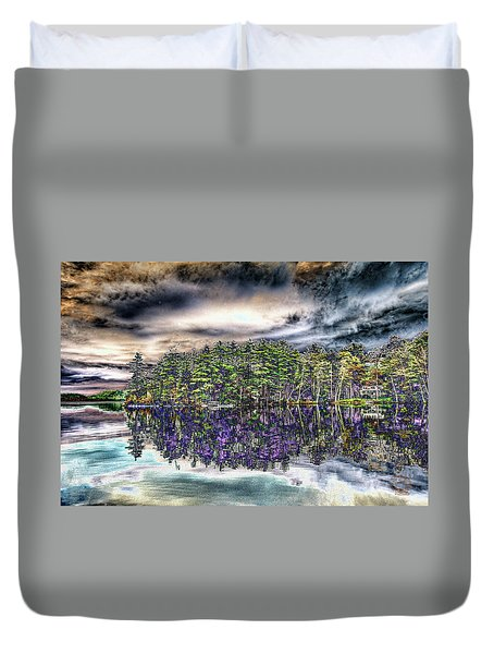 Dreaming Of The Past Duvet Cover