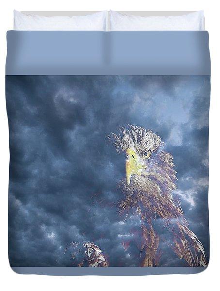 Dreaming Of The Sky Duvet Cover