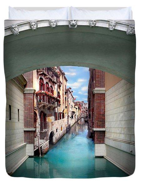 Dreaming Of Venice Duvet Cover