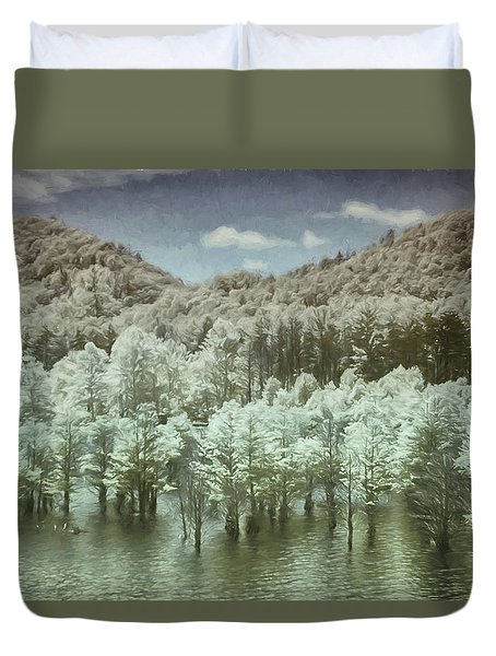 Dreaming Without Words Duvet Cover