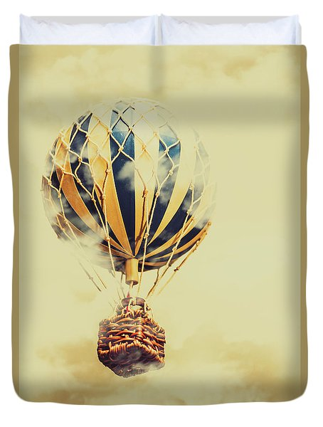 Dreams And Clouds Duvet Cover
