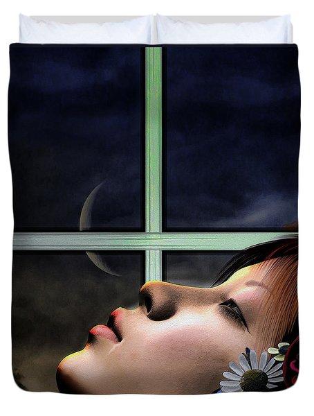 Dreams Are Made Of Duvet Cover by Bob Orsillo