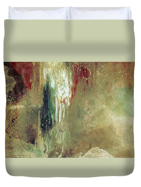 Dreams Come True - Earth Tone Art - Contemporary Pastel Color Abstract Painting Duvet Cover