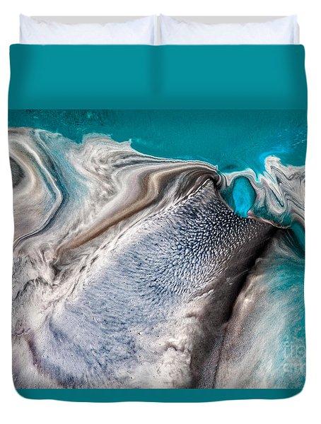 Dreams Like Ocean Duvet Cover