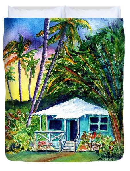 Dreams Of Kauai 2 Duvet Cover