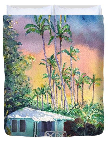 Dreams Of Kauai Duvet Cover