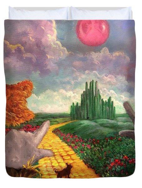 Dreams Of Oz Duvet Cover