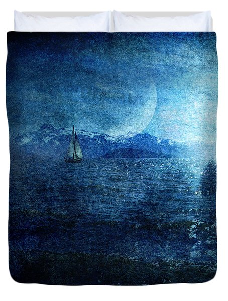 Dreams Of Sailing Duvet Cover