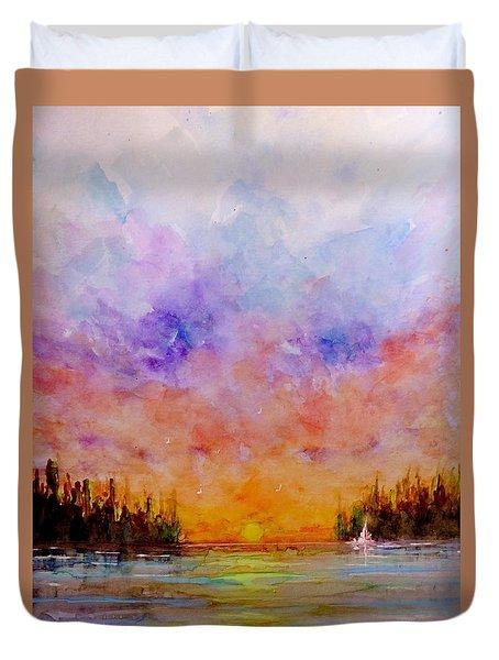Dreamscape.. Duvet Cover