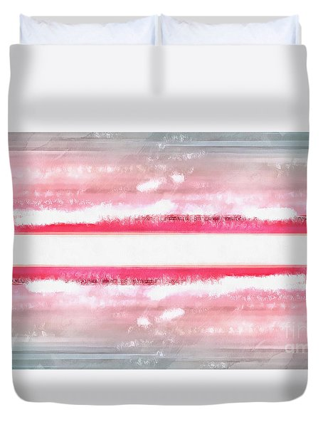 Duvet Cover featuring the painting Dreamscape by Edward Fielding