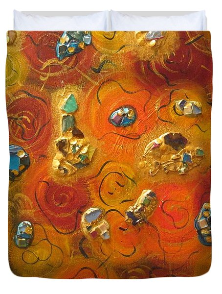 Dreamsicles Duvet Cover