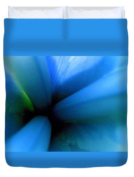 Dreamstate In Aqua Duvet Cover