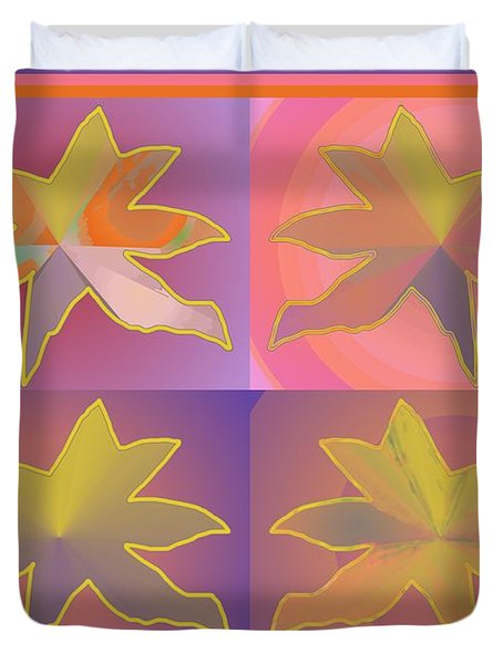 Dreamtime Starbirds Duvet Cover
