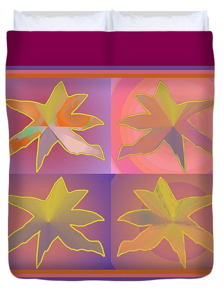 Dreamtime Starbirds Duvet Cover