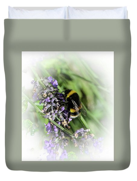 Dreamy Bumble Bee Duvet Cover