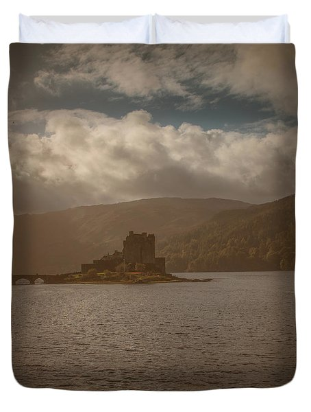 Duvet Cover featuring the photograph Dreamy Castle #g8 by Leif Sohlman