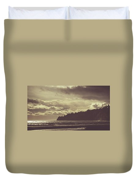 Dreamy Coastline Duvet Cover