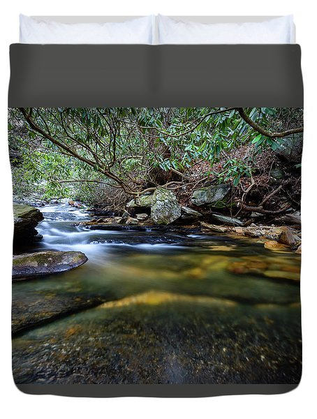 Dreamy Creek Duvet Cover
