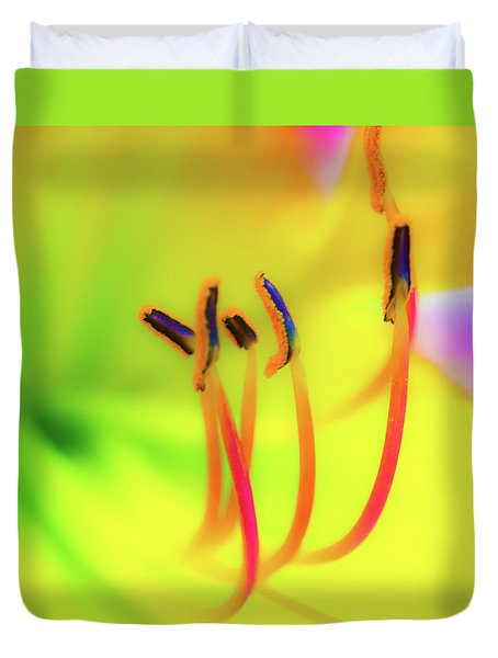Dreamy Daylily Duvet Cover