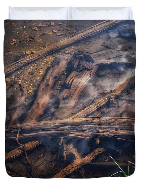 Dreamy Driftwood Duvet Cover