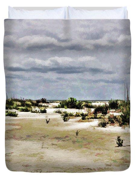 Dreamy Sand Dunes Duvet Cover