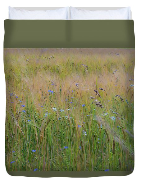 Dreamy Meadow Duvet Cover