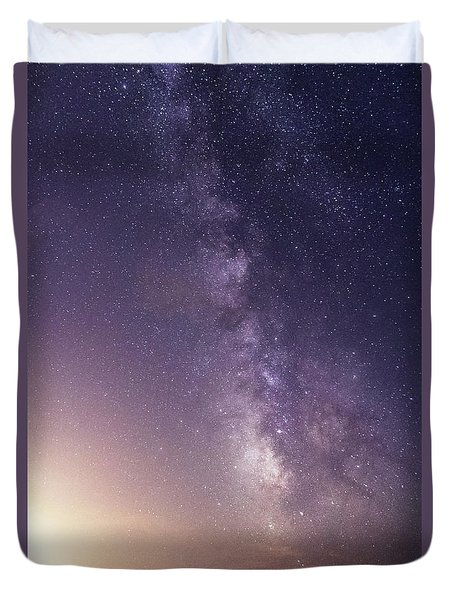 Dreamy Milky Way Duvet Cover