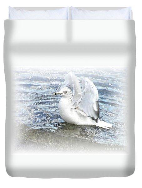 Dreamy Seagull Duvet Cover